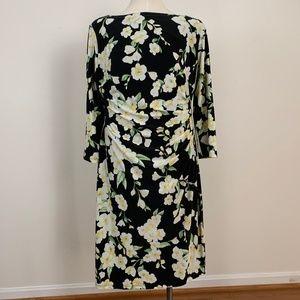 Lauren Ralph Lauren Fashion Floral Dress Size 14